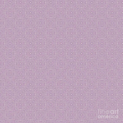 Digital Art - Lavender Herb Design by Clare Bambers