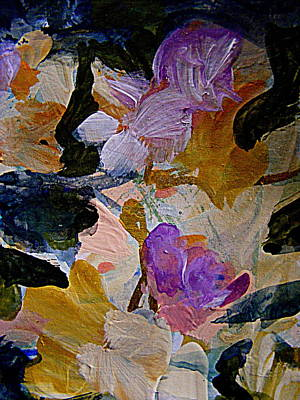 Painting - Lavender Ladies by Nancy Kane Chapman
