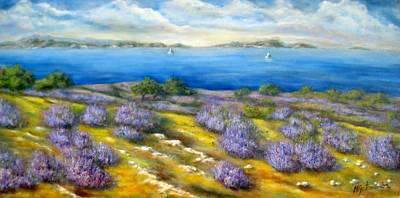 Painting - Lavender by Mirjana Gotovac