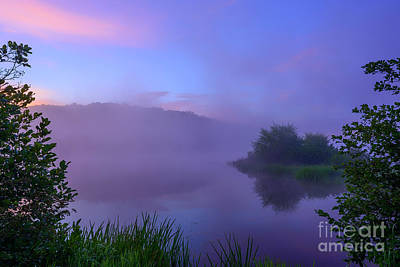 Photograph - Lavender Mist Summer Morning  by Thomas R Fletcher