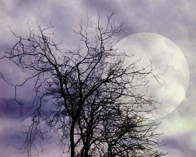 Photograph - Lavender Moon by Patricia Strand