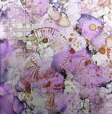 Painting - Lavender Mornings Ink #6 by Sarajane Helm