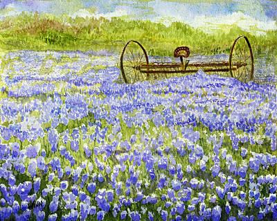 Painting - Lavender Paradise by Brett Winn