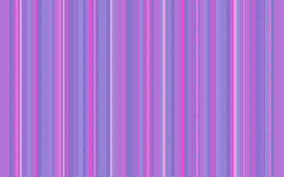 Digital Art - Lavender Pink Random Stripes by Val Arie