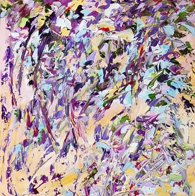 Painting - Lavender Rain by Felicia Weinstein