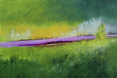 Painting - Lavender Road by Alicia Maury