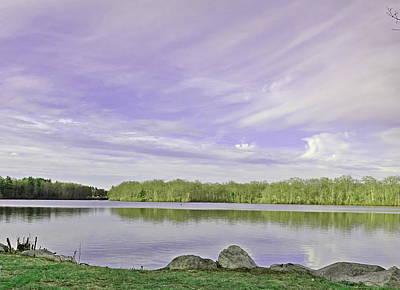 Photograph - Lavender Sky by Lori Pessin Lafargue