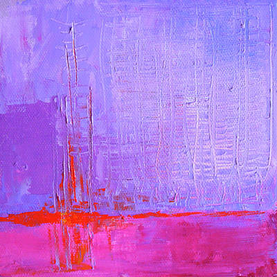 Painting - Lavender Sky by Nancy Merkle