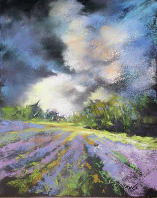 Painting - Lavender Splendor 2 by Rae Andrews