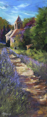 Painting - Lavender Sway by Rae Andrews