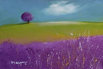 Painting - Lavender Tree On The Shore by Alicia Maury