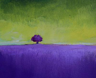Painting - Lavender Valley by Alicia Maury