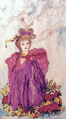 Lavish Lady Art Print by Kenlynn Schroeder