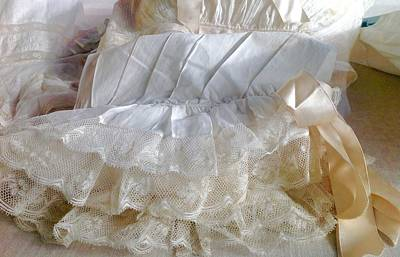 Stellar Interstellar Royalty Free Images - Lavish Victorian  Linen and European Lace Royalty-Free Image by Jacqueline Manos