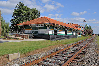 Photograph - Lavonia Depot by Joseph C Hinson Photography