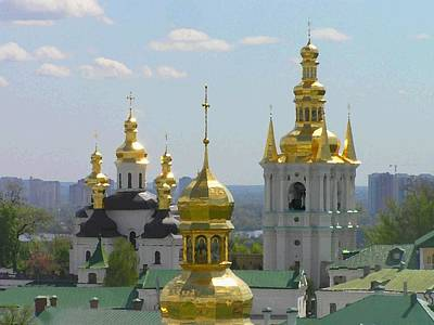 Photograph - Lavra by Oleg Zavarzin