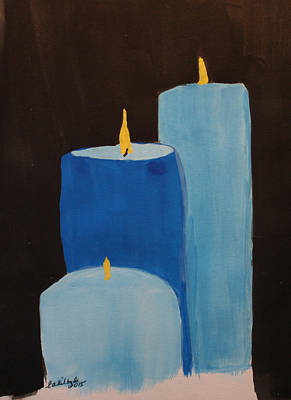 Law Enforcement Candle Tribute Original