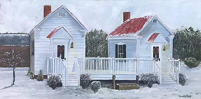 Painting - Law Offices by Linda Clark