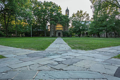 Photograph - Law Quad 1 University Of Michigan by Pravin Sitaraman