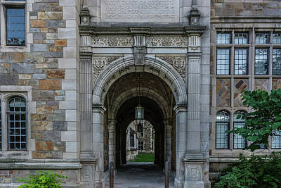 Photograph - Law Quad 2 University Of Michigan  by Pravin Sitaraman