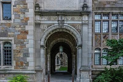 Photograph - Law Quad 2 University Of Michigan  by Pravin Sitaraman