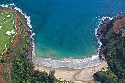 Photograph - Lawai Cove Kauai by Steven Lapkin