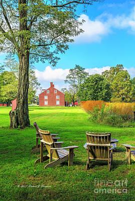 Photograph - Adirondack Chair Viewing by Richard J Thompson