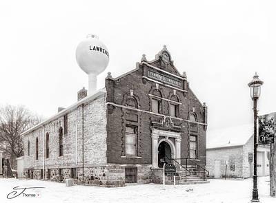 Wall Art - Photograph - Lawrence Michigan Town Hall by J Thomas