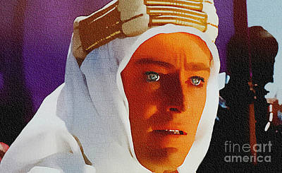 World War One Digital Art - Lawrence Of Arabia - Peter O Toole by Ian Gledhill