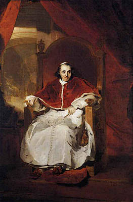 Digital Art - Lawrence Sir Thomas Pope Pius Vii by Sir Thomas Lawrence