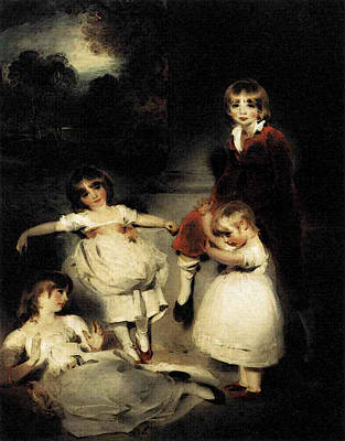 Digital Art - Lawrence Sir Thomas Portrait Of The Children Of John Angerstein by Sir Thomas Lawrence