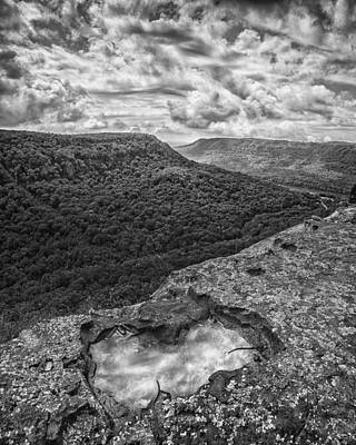 Photograph - Lawsons Rock Overlook by Steven Llorca
