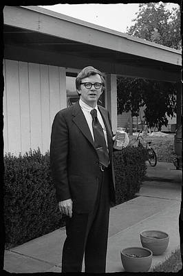 Photograph - Lawyer With Can Of Tab, 1971 by Jeremy Butler