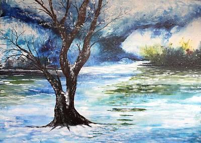 Painting - Lax Msc 289 by Mario Sergio Calzi