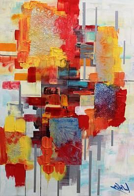 Painting - Lax Msc 293 by Mario Sergio Calzi