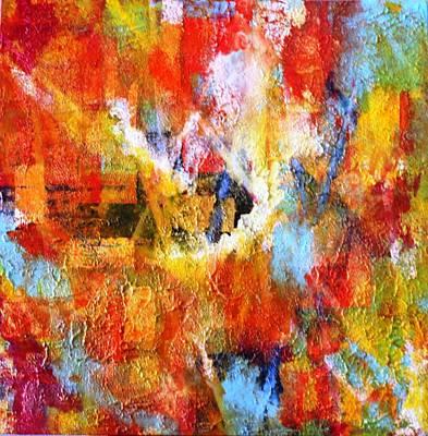 Painting - Lax Msc 298 by Mario Sergio Calzi