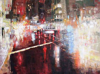 Painting - Lax-oil Msc 294 by Mario Sergio Calzi