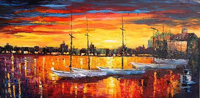Painting - Lax-oil Msc 296 by Mario Sergio Calzi