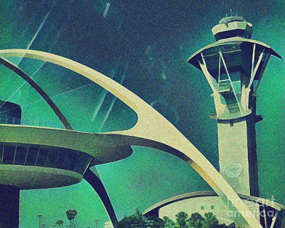 Photograph - Lax Tower And Restaurant by Gregory Dyer