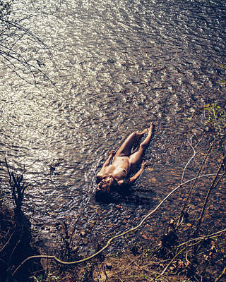 Photograph - Lay Upon The River by James Pennie