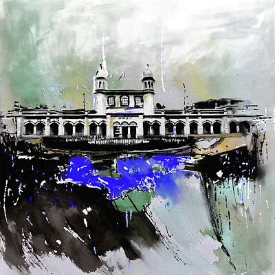 Painting - Layallpur District Council by Mawra Tahreem