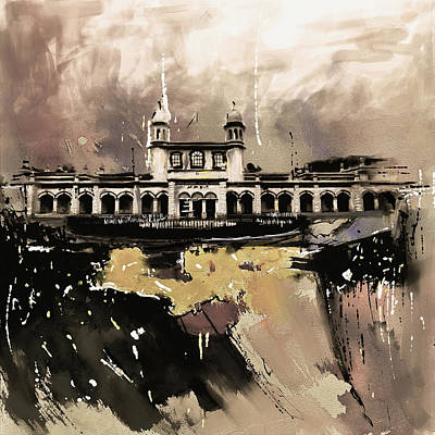 Painting - Layalpur District Council 4 by Mawra Tahreem