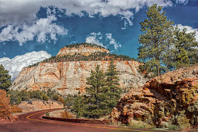 Photograph - Layered Cake Mesa by John M Bailey