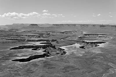 Photograph - Layered Canyons - Canyonlands National Park by KJ Swan