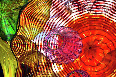 Photograph - Layered Glass by David Patterson