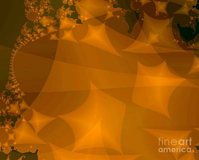 Kites Digital Art - Layered Kite Formations by Ron Bissett