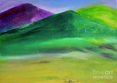 Painting - Layered Mountains by Kim Nelson