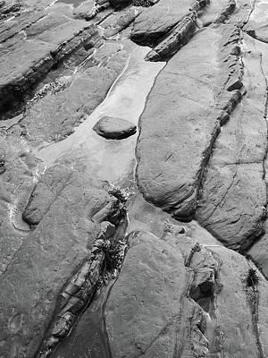 Photograph - Layered Rock Pools by Bear R Humphreys