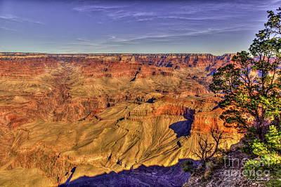 Photograph - Layered Splendor Grand Canyon National Park Arizona Art by Reid Callaway