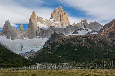 Mountain Range Photograph - Layers by Blaz Gvajc
